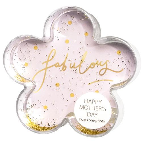 Shot2Go Glitter Frame Flower in Gold