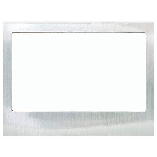 Shot2Go 6x4-inch Magnetic Fridge Photo Frame in Silver 3 Pack