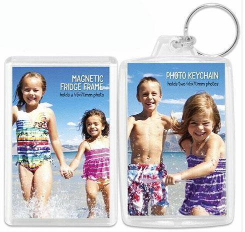 Shot2Go Photo Keychain and Magnetic Photo Frame