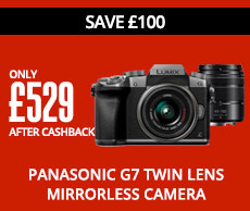 Panasonic G7 Twin Lens Mirrorless Camera