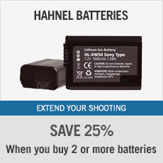 Hahnel Batteries