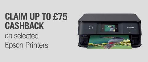 Epson Printers Cashback