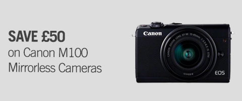 Canon M100 Mirrorless cameraS