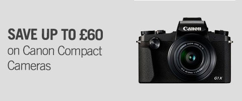 Save on Canon Compact Cameras