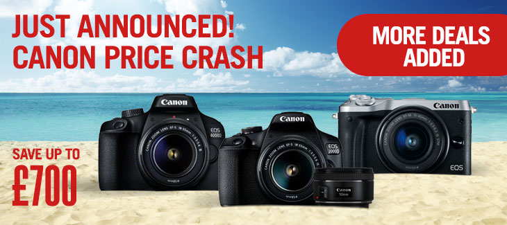 Canon Price Crash!