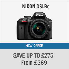 Great Savings on Nikon DSLRs