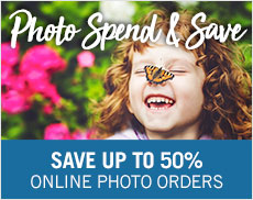 Spend & Save on Photo