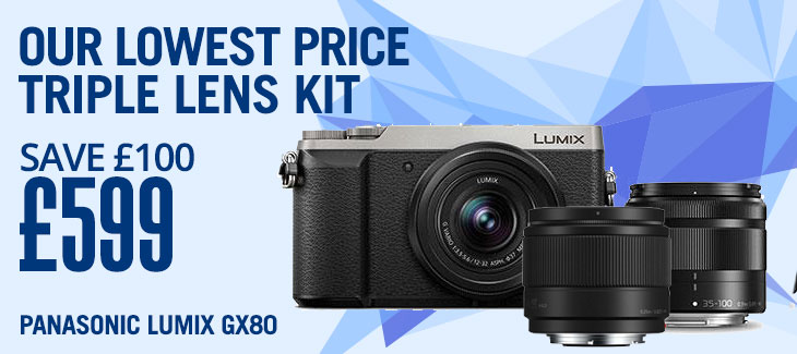 Panasonic Lumix GX80 Twin Lens Kit