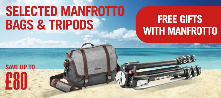 Selected Manfrotto Bags & Tripods