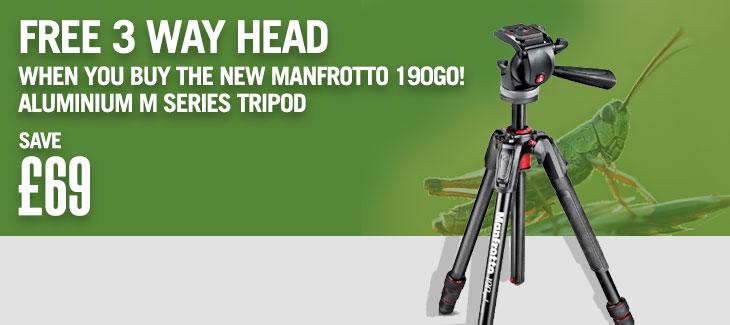 New Manfrotto 190Go!