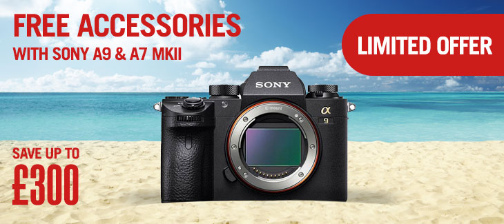 Free accessories with Sony A9 & A7 MkII