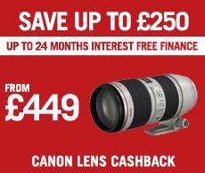 Canon Lens Cashback
