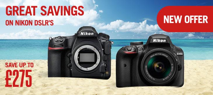 Great savings on Nikon DSLR's