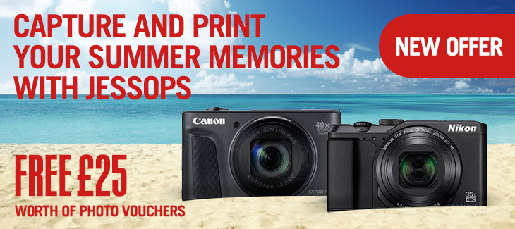 Capture and print your summer memories with Jessops