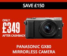 Panasonic GX80 Mirrorless Camera