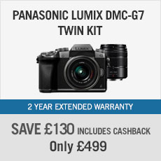Panasonic Lumix DMC-G7 twin kit