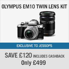 Olympus EM10 Twin Lens Kit