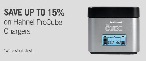 Hahnel ProCube Chargers