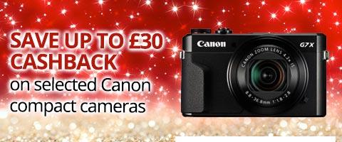 Canon Compact Cameras Cashback