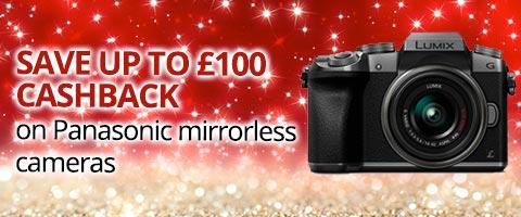 Panasonic Mirrorless Camera £100 Cashback