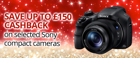 Sony Compact Cameras Cashback