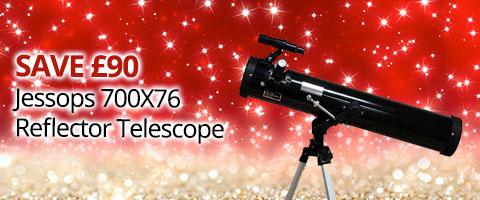 Jessops 700x76 Reflector Telescope