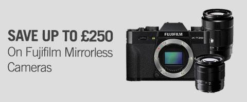 Fujifilm mirrorless cameras